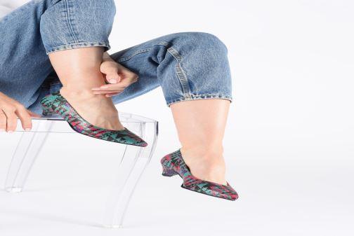 Zapatos de tacón Made by SARENZA UrbAfrican Escarpins #5 Multicolor vista de abajo