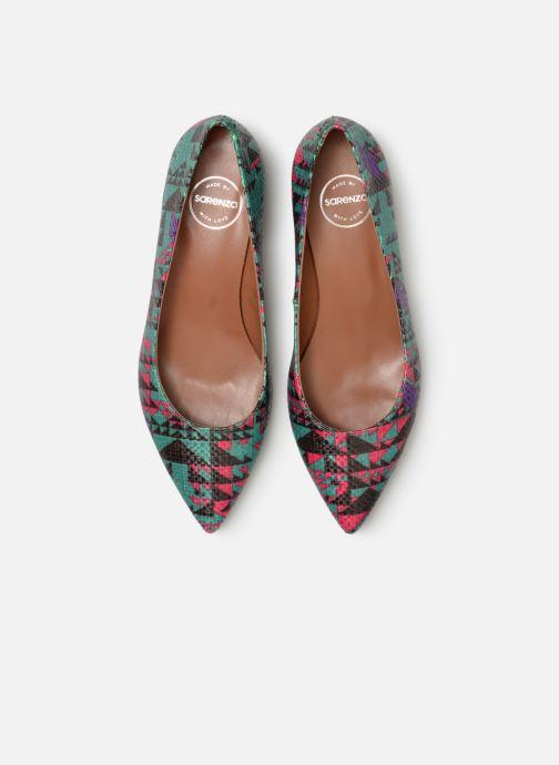Zapatos de tacón Made by SARENZA UrbAfrican Escarpins #5 Multicolor vista del modelo