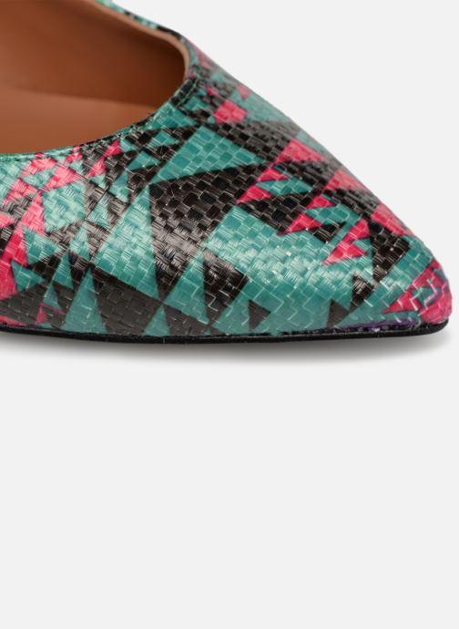 Zapatos de tacón Made by SARENZA UrbAfrican Escarpins #5 Multicolor vista lateral izquierda