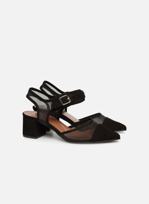 High heels Made by SARENZA Sport Party Escarpins #6 Black back view
