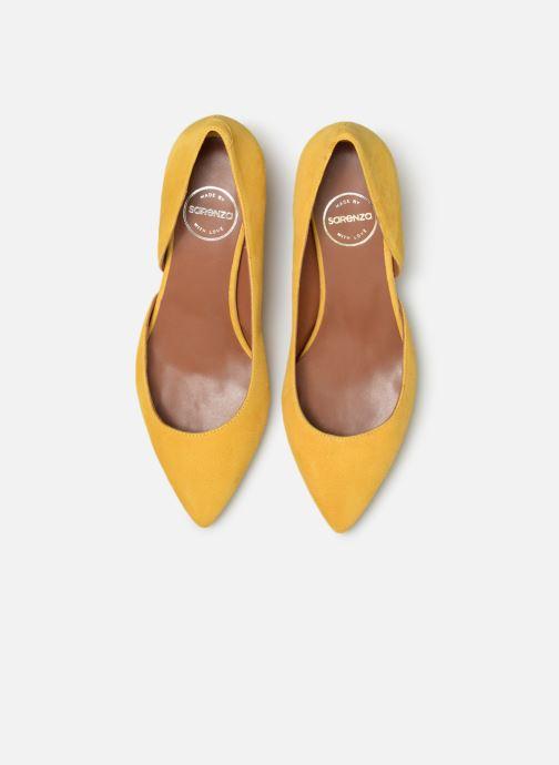 Zapatos de tacón Made by SARENZA Pastel Affair Escarpins #10 Amarillo vista del modelo