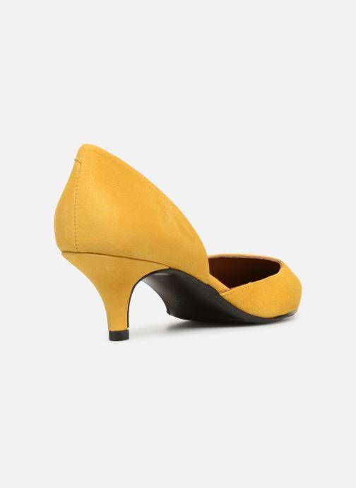 Zapatos de tacón Made by SARENZA Pastel Affair Escarpins #10 Amarillo vista de frente