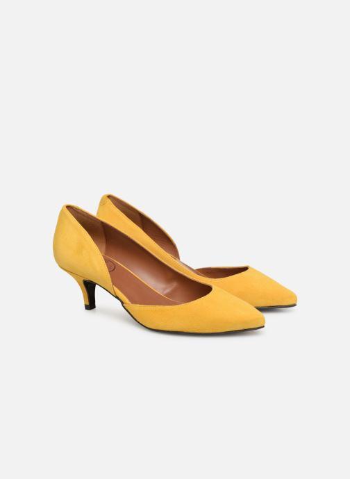Zapatos de tacón Made by SARENZA Pastel Affair Escarpins #10 Amarillo vistra trasera