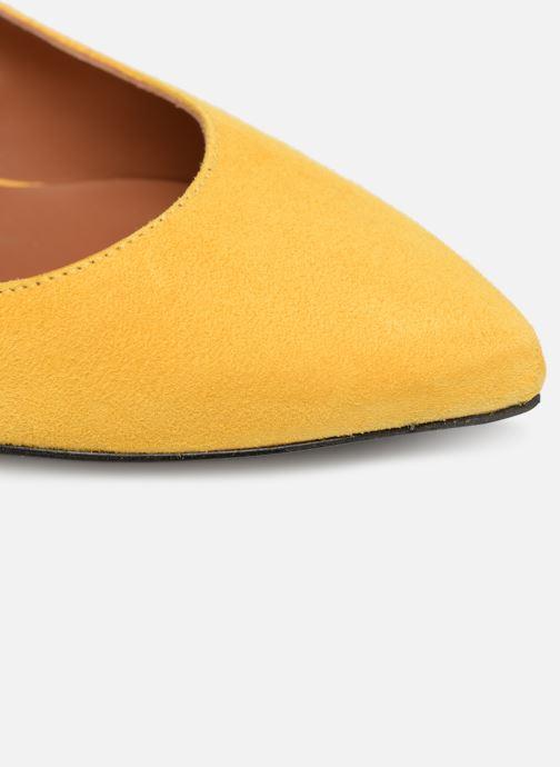 Zapatos de tacón Made by SARENZA Pastel Affair Escarpins #10 Amarillo vista lateral izquierda