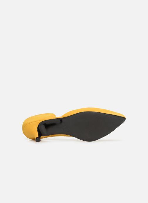 Zapatos de tacón Made by SARENZA Pastel Affair Escarpins #10 Amarillo vista de arriba