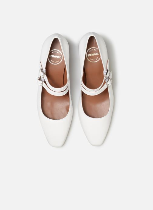 Escarpins Made by SARENZA Pastel Affair Escarpins #11 Blanc vue portées chaussures