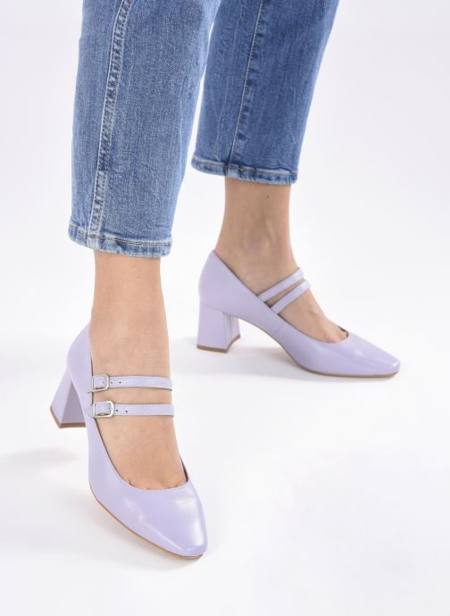 Zapatos de tacón Made by SARENZA Pastel Affair Escarpins #11 Violeta      vista de abajo