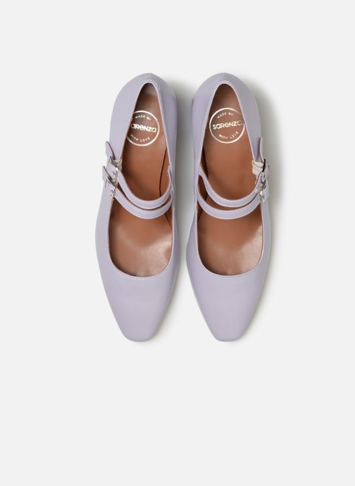 Décolleté Made by SARENZA Pastel Affair Escarpins #11 Viola modello indossato