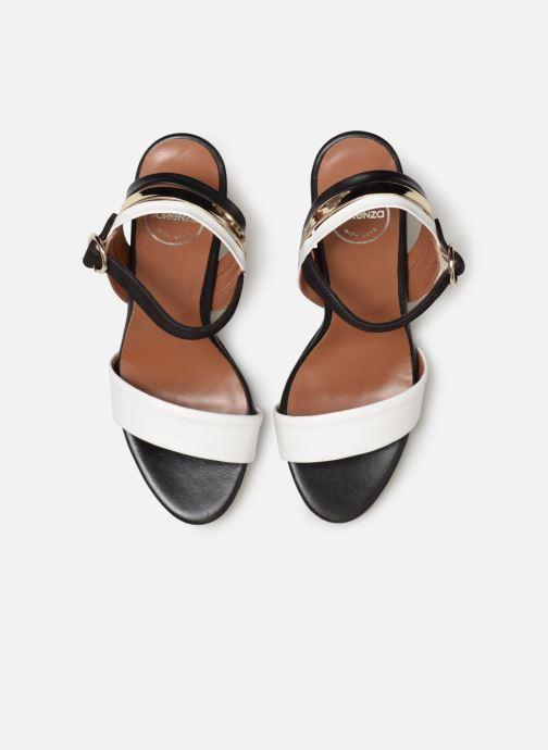 Sandali e scarpe aperte Made by SARENZA Sport Party Sandales à Talons #7 Bianco modello indossato