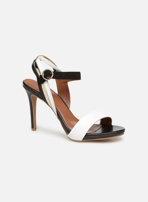 Sandales et nu-pieds Made by SARENZA Sport Party Sandales à Talons #7 Blanc vue droite