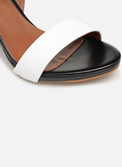 Sandales et nu-pieds Made by SARENZA Sport Party Sandales à Talons #7 Blanc vue gauche