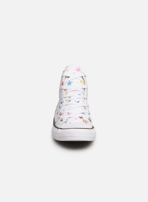 Trainers Converse Chuck Taylor All Star Hi Noe & Zoe White model view