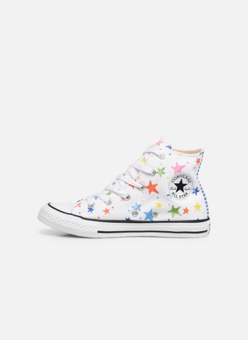 Trainers Converse Chuck Taylor All Star Hi Noe & Zoe White front view