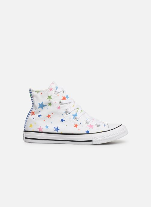 Trainers Converse Chuck Taylor All Star Hi Noe & Zoe White back view