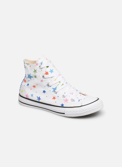 Trainers Converse Chuck Taylor All Star Hi Noe & Zoe White detailed view/ Pair view