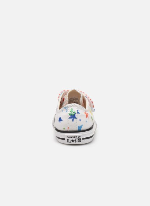 Sneakers Converse Chuck Taylor All Star 2V Ox Noe & Zoe Wit rechts