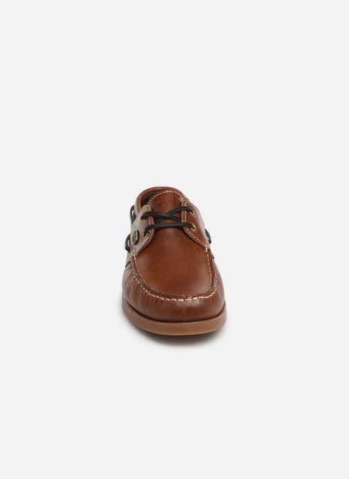Chaussures à lacets Dockers François Marron vue portées chaussures