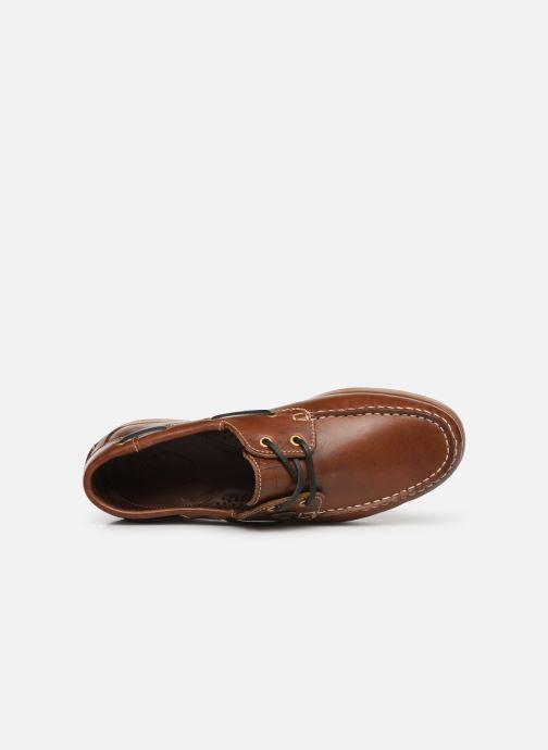 Chaussures à lacets Dockers François Marron vue gauche
