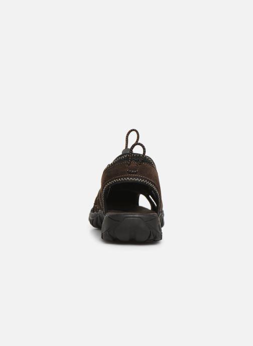 Sandali e scarpe aperte Dockers Frédéric Marrone immagine destra
