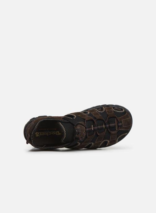 Sandali e scarpe aperte Dockers Frédéric Marrone immagine sinistra