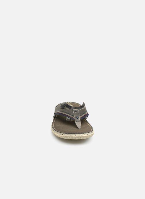 Tongs Dockers Gautier Gris vue portées chaussures