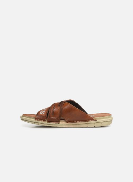 Sandals Dockers Baptiste Brown front view