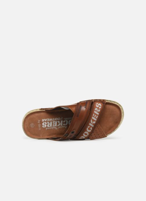 Sandals Dockers Baptiste Brown view from the left