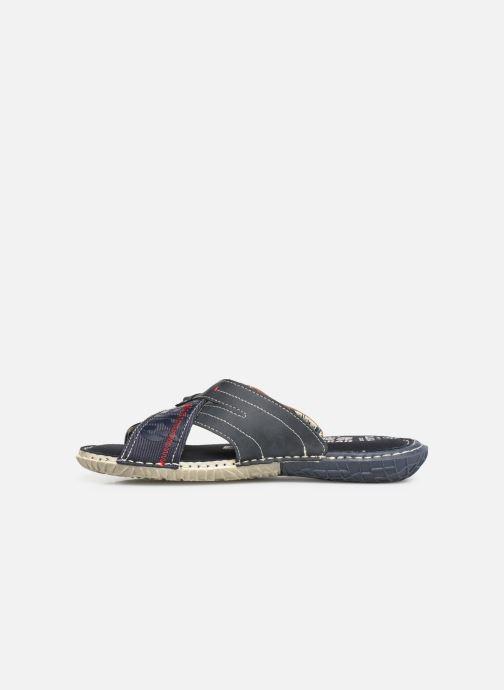 Sandales et nu-pieds Dockers Charles Bleu vue face