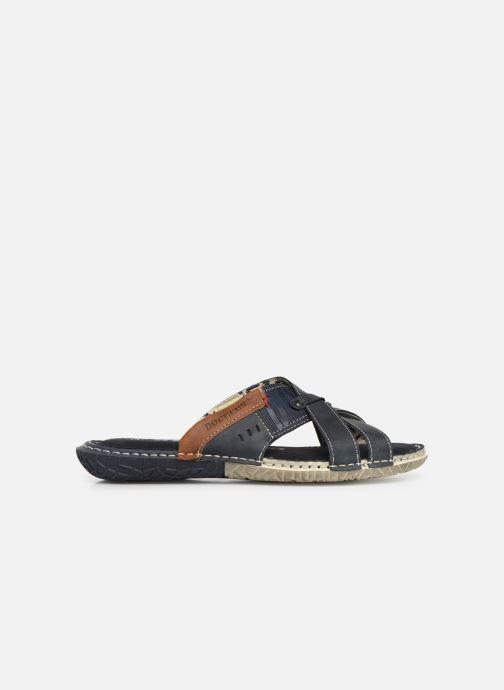 Sandales et nu-pieds Dockers Charles Bleu vue derrière