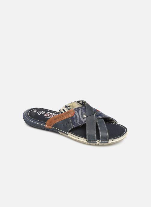 Sandales et nu-pieds Dockers Charles Bleu vue détail/paire