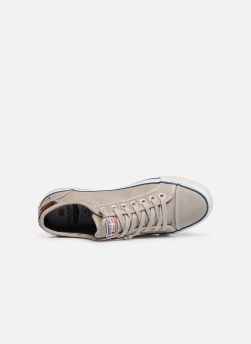 Trainers Dockers Emilien Beige view from the left
