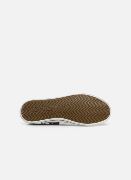 Trainers Dockers Emilien Beige view from above