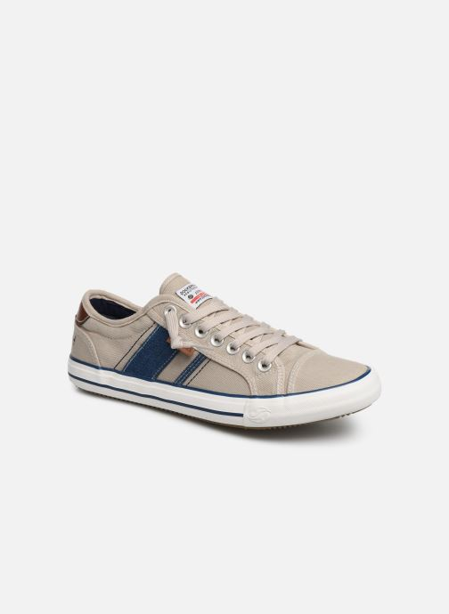Trainers Dockers Emilien Beige detailed view/ Pair view
