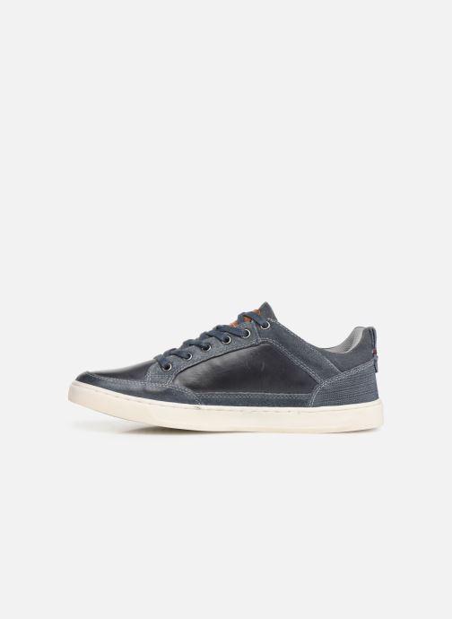 Sneakers Dockers Eugène Blauw voorkant