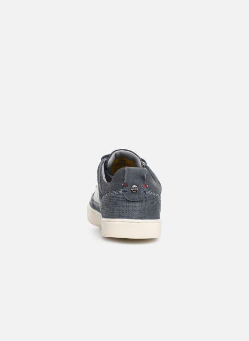 Sneakers Dockers Eugène Blauw rechts