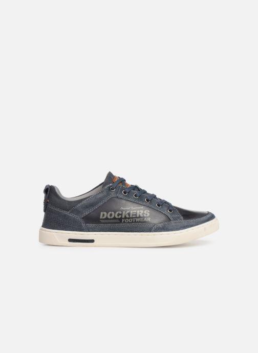 Sneakers Dockers Eugène Blauw achterkant