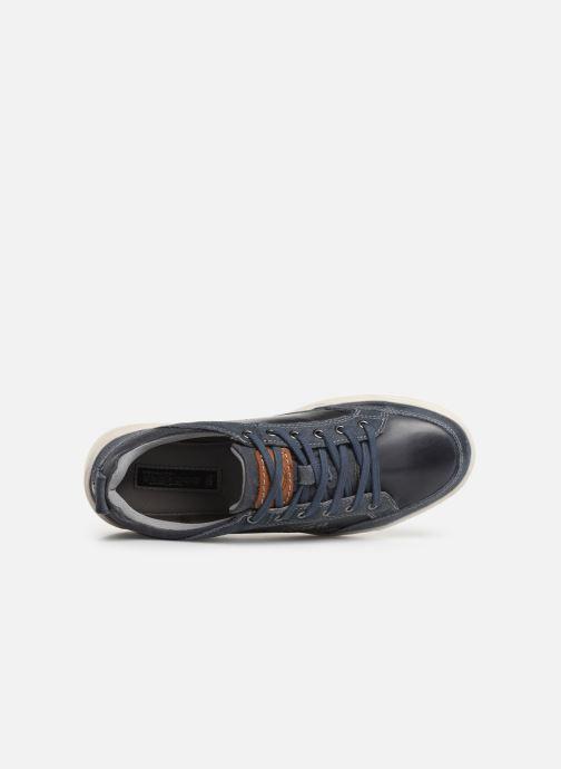 Sneakers Dockers Eugène Blauw links