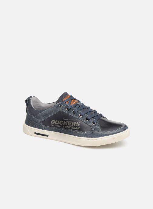 Sneakers Dockers Eugène Blauw detail