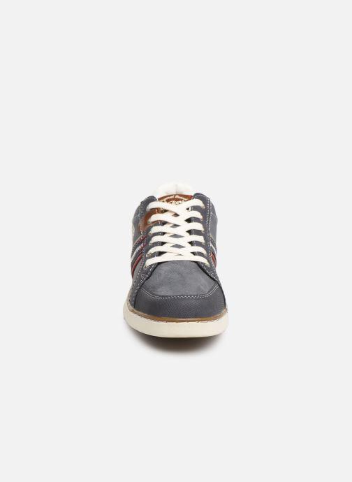 Baskets Dockers Edgar Bleu vue portées chaussures
