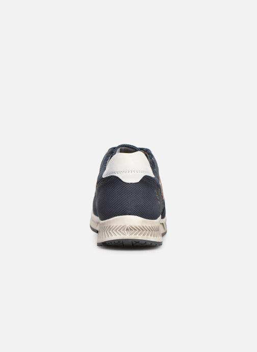 Baskets Dockers Fernand Bleu vue droite