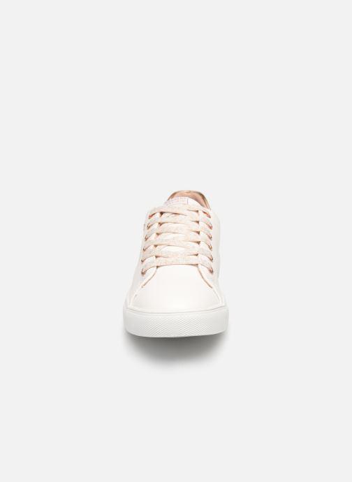 Baskets Dockers Alix Blanc vue portées chaussures