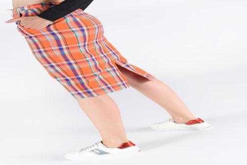 Chaussure Femme Grande Remise Dockers Clothilde Blanc Baskets 353793