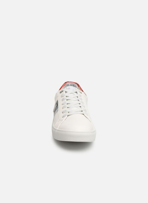 Baskets Dockers Clothilde Blanc vue portées chaussures