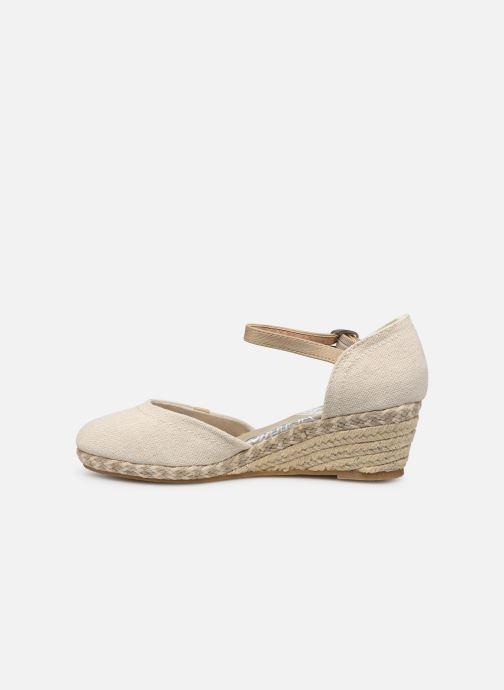Sandales et nu-pieds Dockers Elise Beige vue face