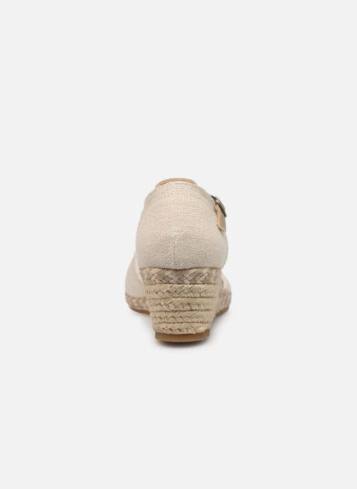 Sandales et nu-pieds Dockers Elise Beige vue droite