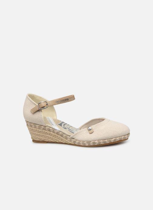 Sandales et nu-pieds Dockers Elise Beige vue derrière