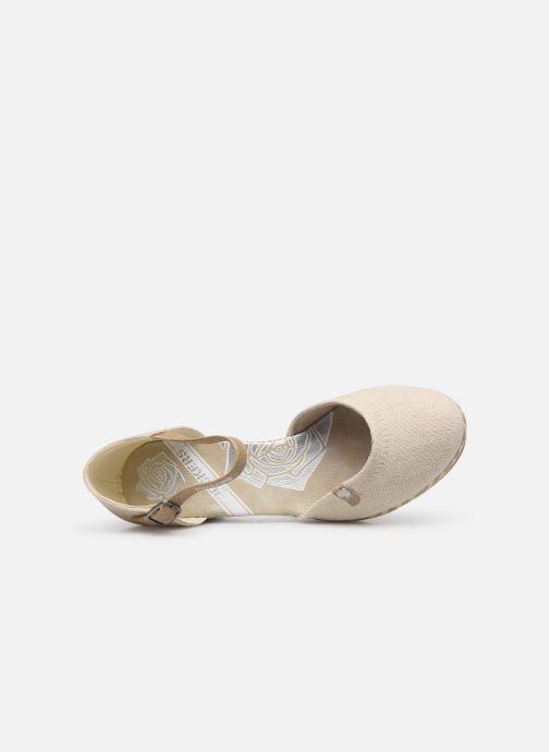 Sandales et nu-pieds Dockers Elise Beige vue gauche