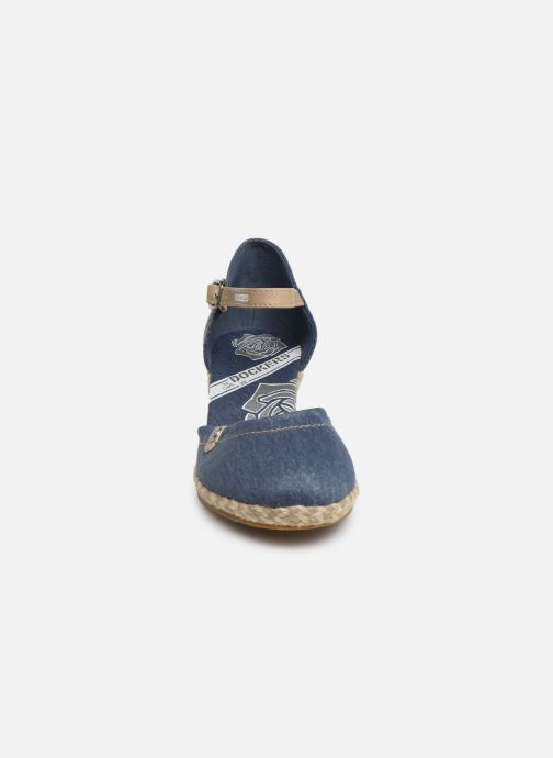 Sandali e scarpe aperte Dockers Elise Azzurro modello indossato