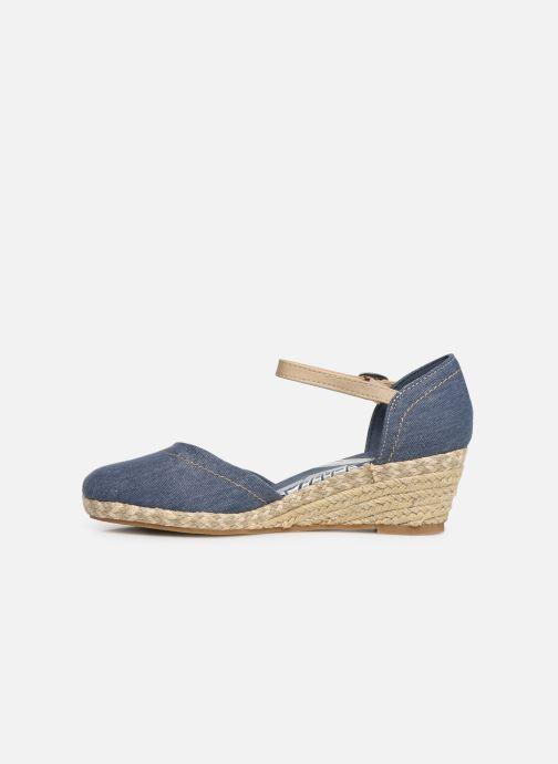 Sandales et nu-pieds Dockers Elise Bleu vue face