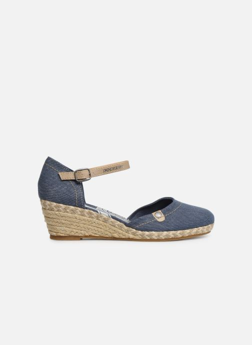 Sandales et nu-pieds Dockers Elise Bleu vue derrière